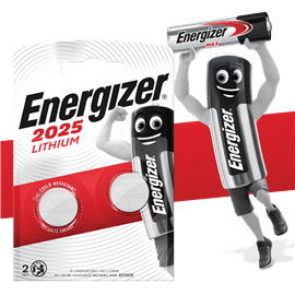 סוללות 2025 אנרג'ייזר
