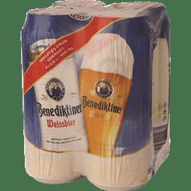 בירה בנדיקטינר פחיות