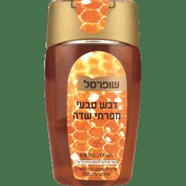 דבש טבעי לחיץ שופרסל