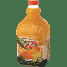 מיץ פירות הדר 100% טבעי