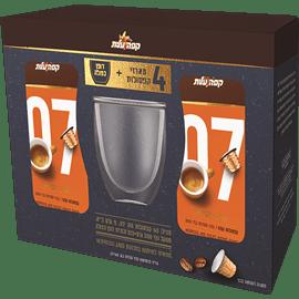 מארז קפסולות מס' 7+כוס