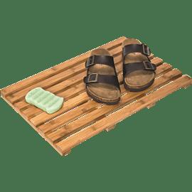 משטח במבוק לאמבטיה