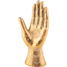כף יד מעוצבת חמסה ישרה