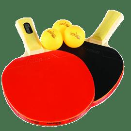 זוג מחבטים+3 כדורים טניס