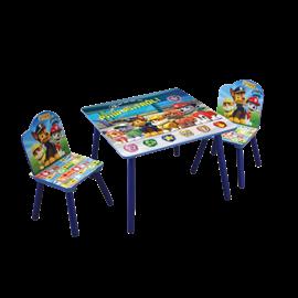 סט שולחן+2 כסאות מפרץ