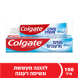 משחת שיניים ג'ל פסים מרע