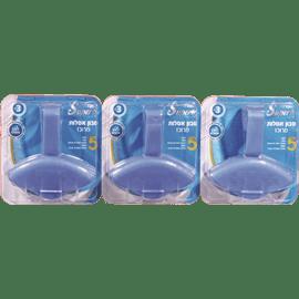 סבון כחול לאסלה מארז