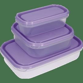 סט 3 קופסאות ענבר