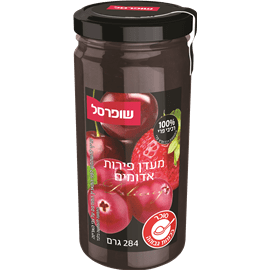 מעדן פירות אדומים שופרסל