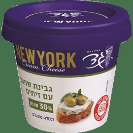 גבינת שמנת 30% זיתים