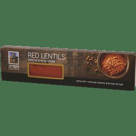 """ספגטי עדשים אדומות לל""""ג"""