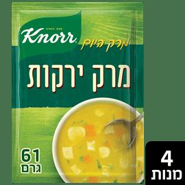 מרק עשיר ירקות קנור