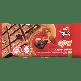 שוקולד מיקס עוגיות+שקדים