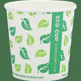 כוס 4 נייר טבעי אקולוגי