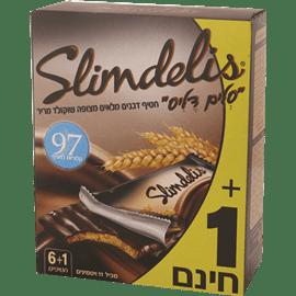 סלים דליס שוקולד מריר6+1