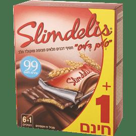 סלים דליס שוקולד חלב6+1