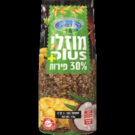 מיזלי קראנץ 30%פירות