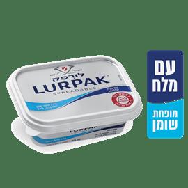 ממרח לורפק+מלח פחות שומן