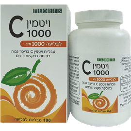 ויטמין C1000 לבליעה