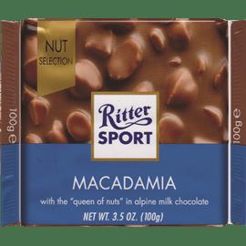 שוקולד חלב עם מקדמיה