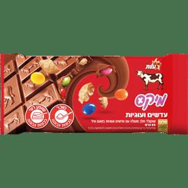 שוקולד מיקס עוגיות+עדשים
