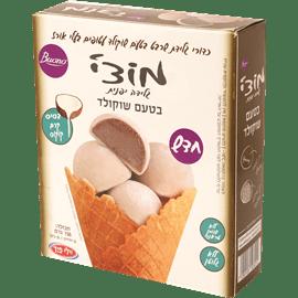 מוצ'י גלידת שרבט שוקולד