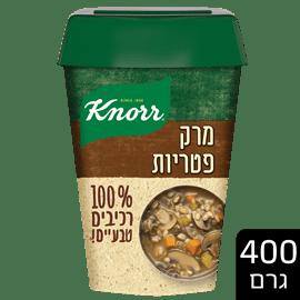 מרק פטריות-רכיבים טבעים