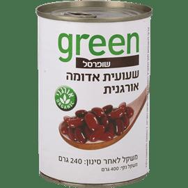 שעועית אדומה אורגני גרין