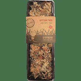 פאי אגוזים טבעוני