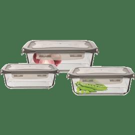 קופסאות אחסון זכוכית