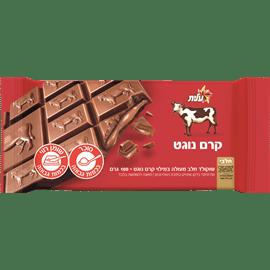 שוקולד במילוי קרם נוגט