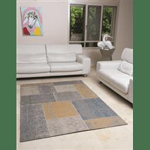 שטיח סטאר טלאים צהוב