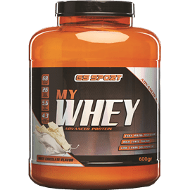 GS'חלבון שוקולד לבן