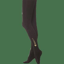 גרביון שחור מודפס M-L