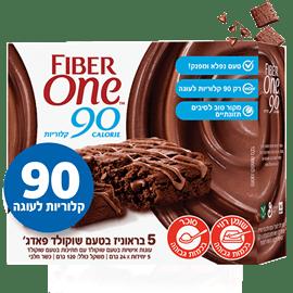 חטיפי פייבר 1 טעם שוקולד
