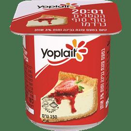 יופלה עוגת קרם גבינה+תות