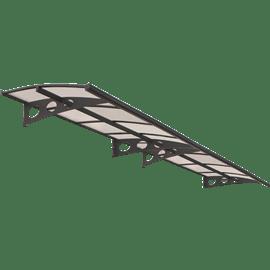 גגון הרלד 4460 אפור שקוף