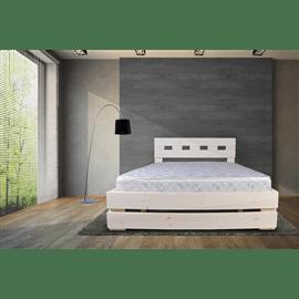 מיטה מעוצבת מעץ + מזרן