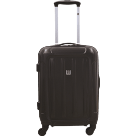 מזוודה 20 שחור ABS