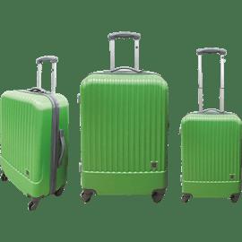מזוודות קשיחותABSאדום
