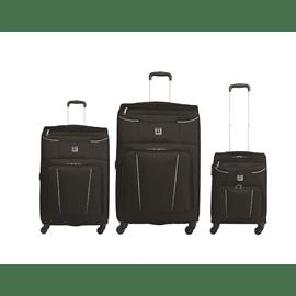 סט3 מזוודות בד20+24+28