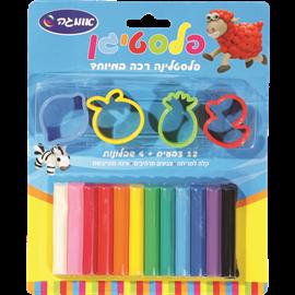 פלסטיגן 12 צבעים