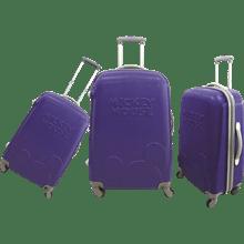 סט3 מזוודות ABS כחול