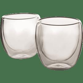 סט כוסות זכוכית להפוך