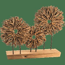 כלי נוי דקורטיבי מעץ