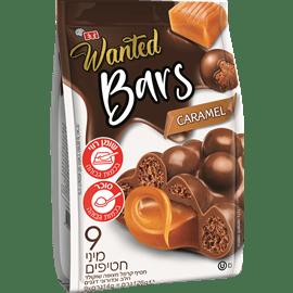 חטיפי קרמל מצופה שוקולד