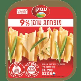 גבינה צהובה עמק 9% פרוס