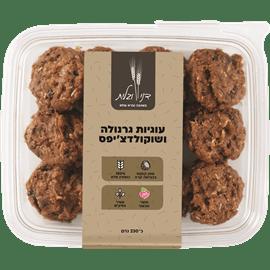 עוגיות גרנולה ושוקוצ'יפס