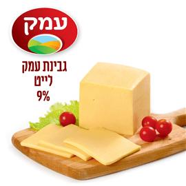 גבינת עמק לייט 9%