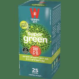תה ירוק ל.לואיזה+ויטמין